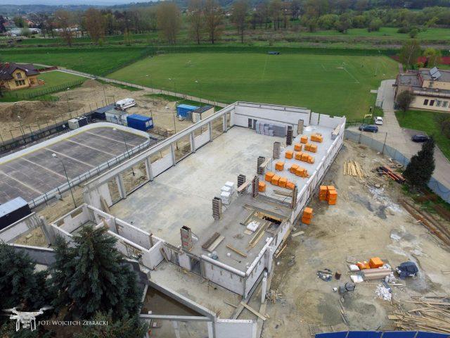 Kolejne etapy budowy – zdjęcia z drona