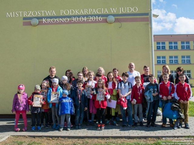 Mistrzostwa Województwa Podkarpackiego w Judo(30.04.2016) Wyniki+zdjęcia