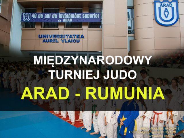 Wyjazd na Turniej Judo do Aradu – Rumunia
