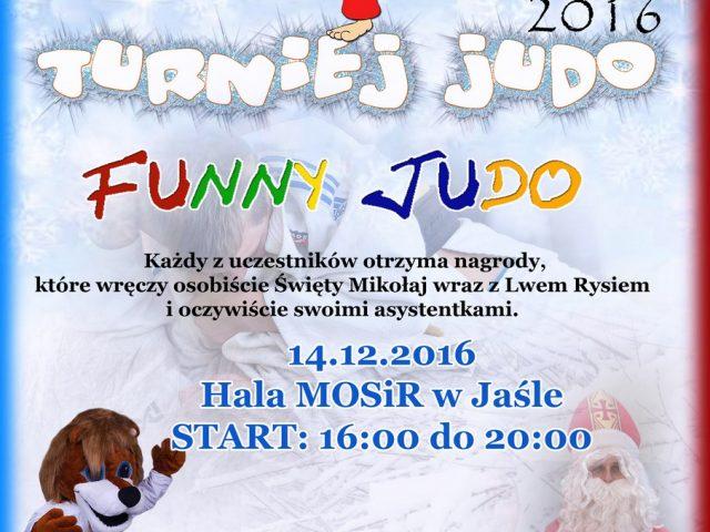 Klubowe Mikołajkowe zawody judo dzieci 14.12.2016