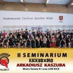 II Seminarium Kickboxing z Arkadiusz Kaszuba – zdjęcia z seminarium
