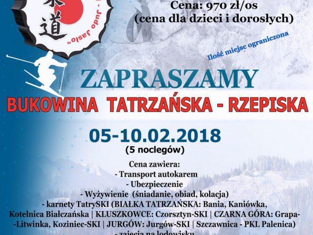 UWAGA! 15.01.2018 – spotkanie w sprawie obozu sportowego zimowego