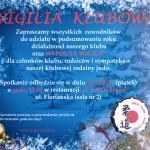 Podsumowanie sezonu oraz wspólna wigilia klubowa 15.12.2017