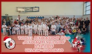 Mikołajkowy Turniej Judo 5.12.2015