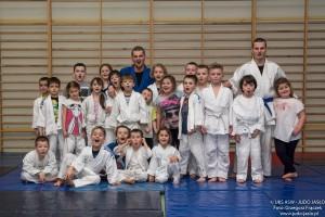 Trening judo_najmłodsza grupa 5.02.2016