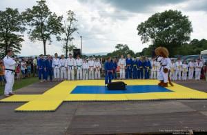 Pokaz Judo z Lwem Rysiem - Dzień Dziecka Dębowiec 5.06.2016