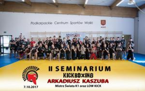 II Seminarium Kickboxing z Akradiusz Kaszuba ( 7.10.2017)